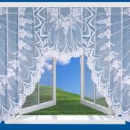 штора оконная 15С24-Г10,  рис.1445,  160х300 см,  цена  315,06 руб.