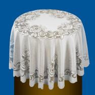 Скатерть круглая 24С5-Г10 рис.2103 диаметр 175 см, цена 215,94 руб